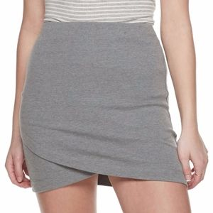 ✨NWT Faux Wrap Mini Skirt